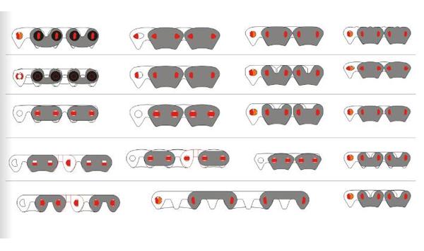 齿形链条(无声链)
